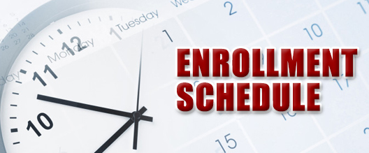 enrollment schedule